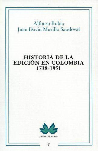 Historia de la edición en Colombia 1738-1851  6a32e313493d3