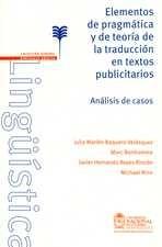 Elementos de pragmática y de teoría de la traducción en textos publicitarios