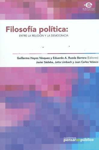 Filosofía política: entre...
