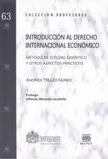 Introducción al derecho internacional económico
