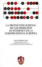 Protección judicial de los derechos en internet en la jurisprudencia europea, La