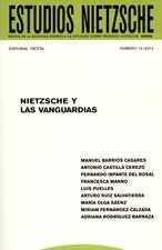 Revista Estudios Nietzsche No.14 Nietzsche y las vanguardias