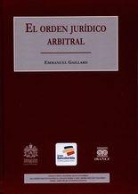 Orden jurídico arbitral, El