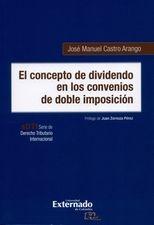 Concepto de dividendo en los convenios de doble imposición, El