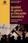 Igualdad de género en educación secundaria. Propuestas didácticas audiovisuales | comprar en libreriasiglo.com