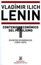 Escritos económicos (1) 1893-1899. Contenido económico del populismo