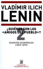 """Escritos económicos (2) 1893-1899. ¿Quiénes son los """"amigos del pueblo""""?"""