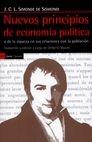 Nuevos principios de economía política o de la riqueza en sus relaciones con la población | comprar en libreriasiglo.com