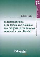 Noción jurídica de la familia en Colombia: una categoría en construcción entre restricción y libertad, La