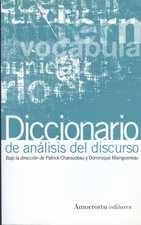 Diccionario de análisis del discurso