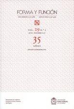 Revista Forma y función No.29-2. 35 Años. Edición conmemorativa