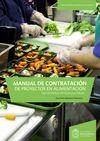 Manual de contratación de proyectos en alimentación