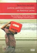 Derechos sociales: justicia, política y economía en América Latina