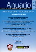 Rev. Anuario 2015 de mediación y solución de conflictos