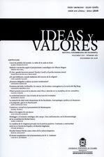 Rev. Ideas y valores No.162