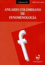Rev. Anuario Colombiano de Fenomenología No.9