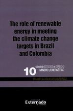 The role of renewable egergy in meeting the climate change targets in Brazil and Colombia