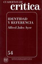 Cuadernos de crítica 54. Identidad y referencia