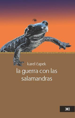 La guerra con las salamandras