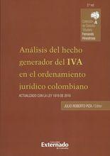 Análisis del hecho generador del IVA en el ordenamiento jurídico colombiano