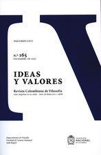 Rev. Ideas y valores No.165