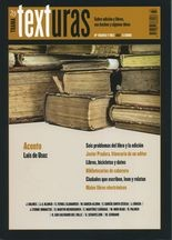 Rev. Trama y texturas No.33. Sobre edición y libros, sus hechos y algunas ideas