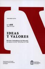 Rev. Ideas y valores No. 166