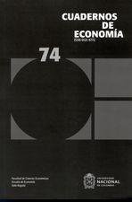 Rev. Cuadernos de economía No.74