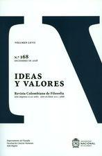 Rev. ideas y valores No.168
