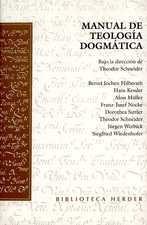 Manual de teología dogmática. Schneider
