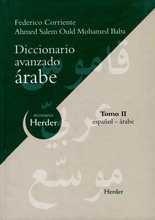 Diccionario avanzado árabe. Tomo II