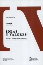 Rev. Ideas y valores No.169