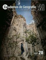 Rev. Cuadernos de geografía: revista colombiana de geografía No.28-1