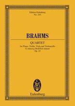 Piano Quintet G minor