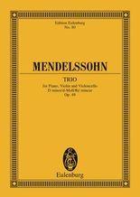 Piano Trio D minor
