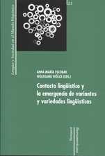 Contacto lingüístico y la emergencia de variantes y variedades lingüísticas