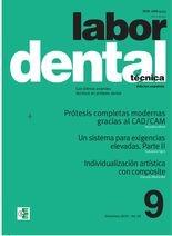 Labor Dental Técnica nº9 Diciembre 2019 vol.22