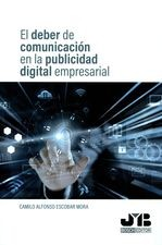 Deber de comunicación en la publicidad digital empresarial, El