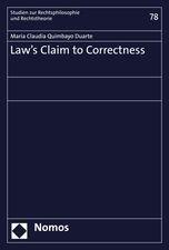 Law´s Claim to Correctness