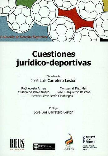 Cuestiones jurídico-deportivas   comprar en libreriasiglo.com