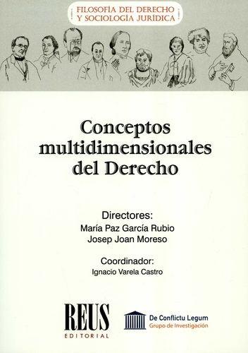 Conceptos multidimensionales del Derecho   comprar en libreriasiglo.com