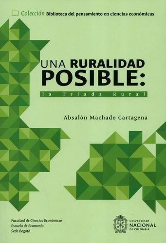 Una ruralidad posible: la...