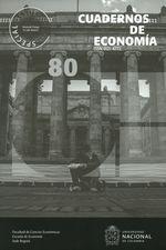 Rev. Cuadernos de economía No.80