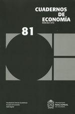 Rev. Cuadernos de economía No.81