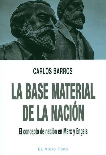La Base material de la nación. El concepto de nación en Marx y Engels | comprar en libreriasiglo.com
