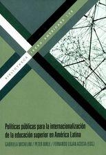 Políticas públicas para la internacionalización de la educación superior en América Latina