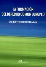 Formación del derecho común europeo, La
