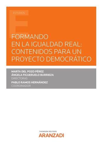 Formando en la igualdad real: contenidos para un proyecto democrático