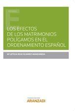 Los efectos de los matrimonios polígamos en el ordenamiento español