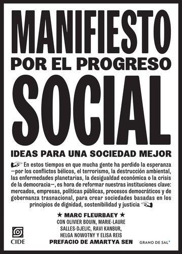 Manifiesto por el progreso social. Ideas para una sociedad mejor | comprar en libreriasiglo.com